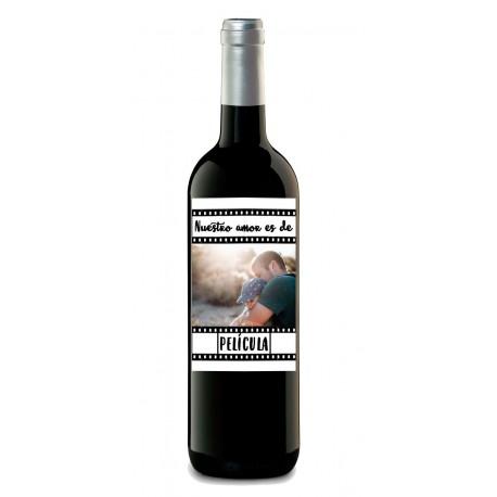 "Botella ""AMOR DE PELICULA"""