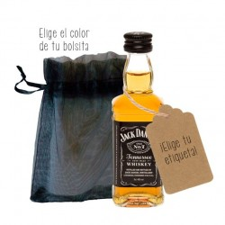 Botellita whisky Jack Daniels