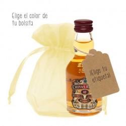 Miniatura whisky Chivas