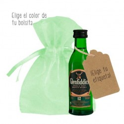 Miniaturas de whisky Glenfiddich