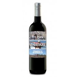 botella vino crianza foto aventuras