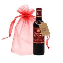 Botellita vino Marques de Cáceres (37.5 cl)