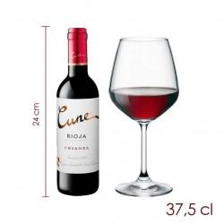 Botellita vino Cune crianza (37.5 cl)