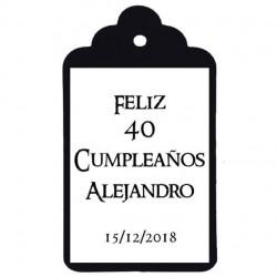ETIQUETA Nº9: Feliz cumpleaños epoca