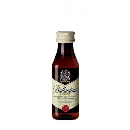 Miniaturas de whisky Ballantines