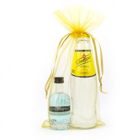 KIT GIN TONIC: Ginebra London nº1 y tónica Schweppes