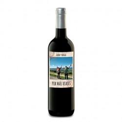 "Botella vino ""PASAPORTE"""