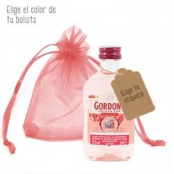 Miniatura ginebra Gordon´s Pink