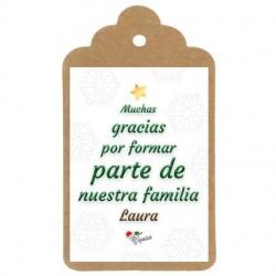 "ETIQUETA NAVIDAD Nº4: ""Felicitación empresa"""