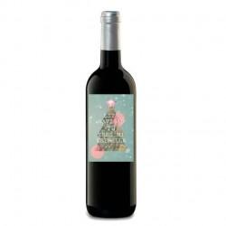 """Botella vino """"TÚ ERES MI ESTRELLA"""""""