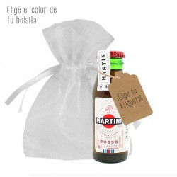 Miniatura Martini Rojo