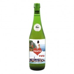 "Botella Sidra ""I Txotx you"""