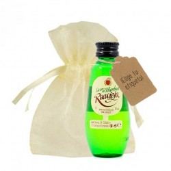 Miniatura licor de hierbas Ruavieja personalizada