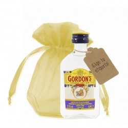 Miniatura ginebra gordons personalizable
