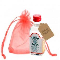 Botellita ginebra Bombay Dry Gin
