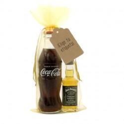 KIT WHISKY COLA: Whisky Jack Daniels y Coca-cola para regalar en eventos