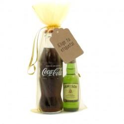 KIT WHISKY COLA: Whisky Jameson y Coca-cola para regalar en tu boda