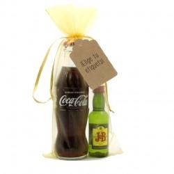 KIT WHISKY COLA: Whisky JB y Coca-cola para regalar en eventos