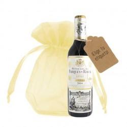 Botella Marques de Riscal reserva para regalo