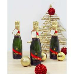 Botellita Champagne Mumm C. Rouge 3/8