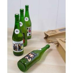 Botella Sidra Petritegi personalizada