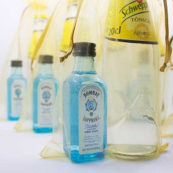 KIT GIN TONIC: Ginebra Bombay Sapphire y tónica Schweppes