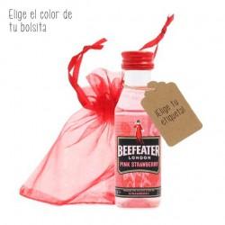 Mini Beefeater pink personalizada para eventos