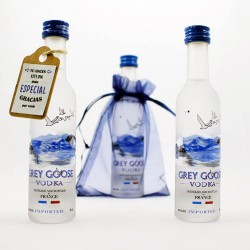 Botellita vodka Grey Goose