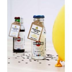 Botellita Martini Blanco