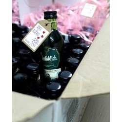 Botellita whisky Glenfiddich