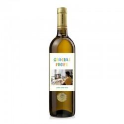 """Botella vino """"GRACIAS PROFE"""""""