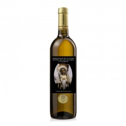 vino blanco virgen hermandad regalo