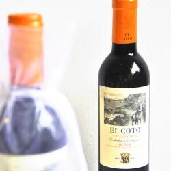 Botellita vino El Coto crianza (37.5 cl)