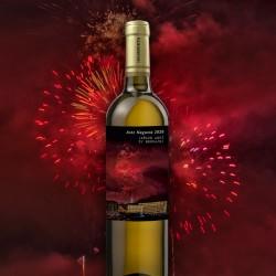 """Botella vino """"FUEGOS SEMANA GRANDE"""""""