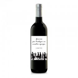 """Botella vino """"REGALO CORPORATIVO"""" para tu negocio"""