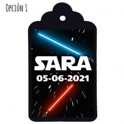 """Etiqueta Comunión nº19: """"STAR WARS"""""""
