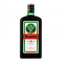 Botella Jägermeister personalizada 70cl