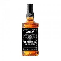 Botella whisky Jack Daniels Personalizada 70cl