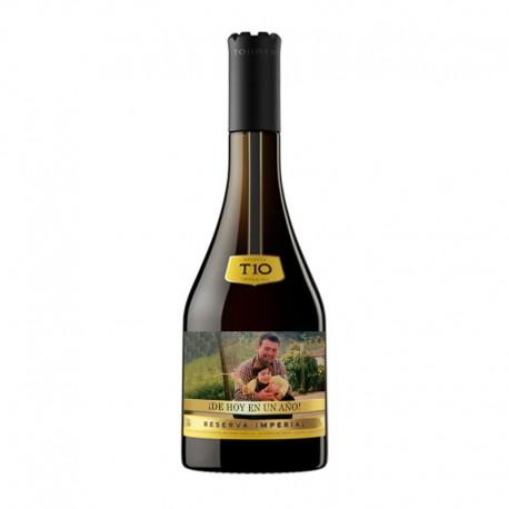 Botella Torres 10 con foto para regalar 70cl