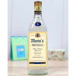 Botella ginebra Seagrams Personalizada 70cl