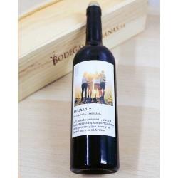 Botella vino DEFINICIÓN AMISTAD