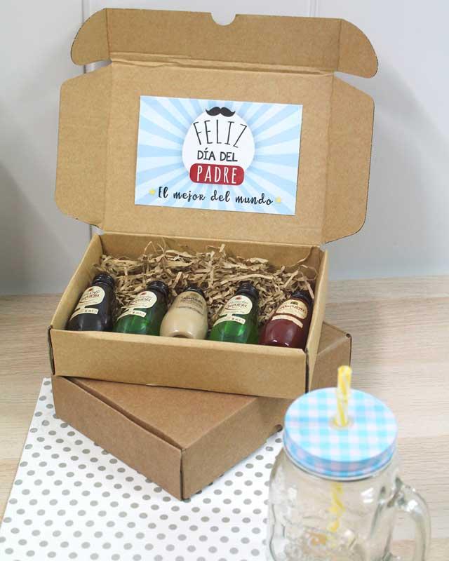 Caja de licores Ruavieja para el Día Del Padre