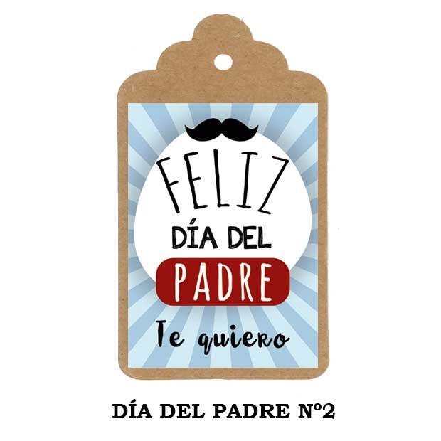 Día del Padre - etiqueta personalizada Nº1