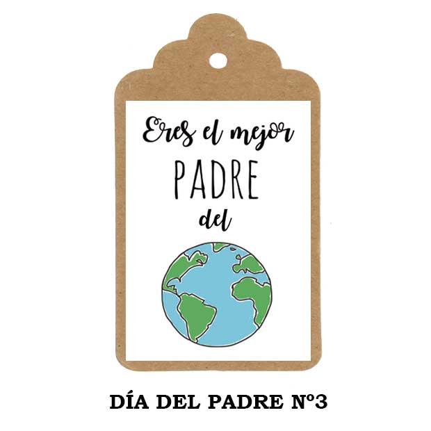 Día del Padre - etiqueta personalizada Nº2