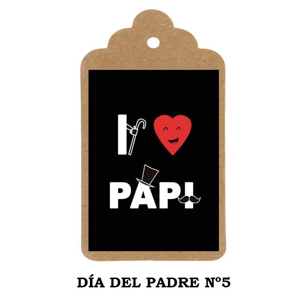 Detalles Día del Padre - etiqueta personalizada Nº5