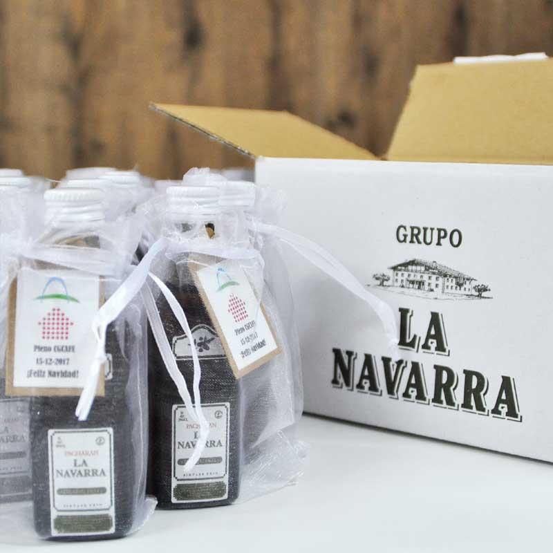Miniaturas de Pacharan La Navarra para regalar en eventos