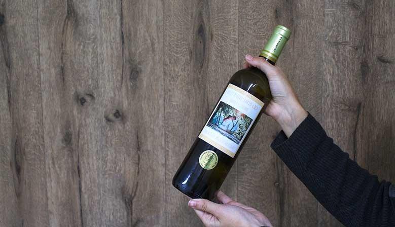 Vino blanco Inurrieta personalizable